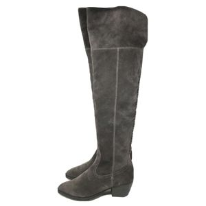 Dolce Vita OTK Boots Brown Suede Low Heeled 7